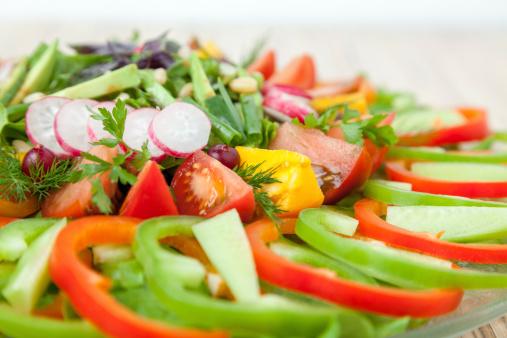 Giữ sức khỏe với bữa ăn chay