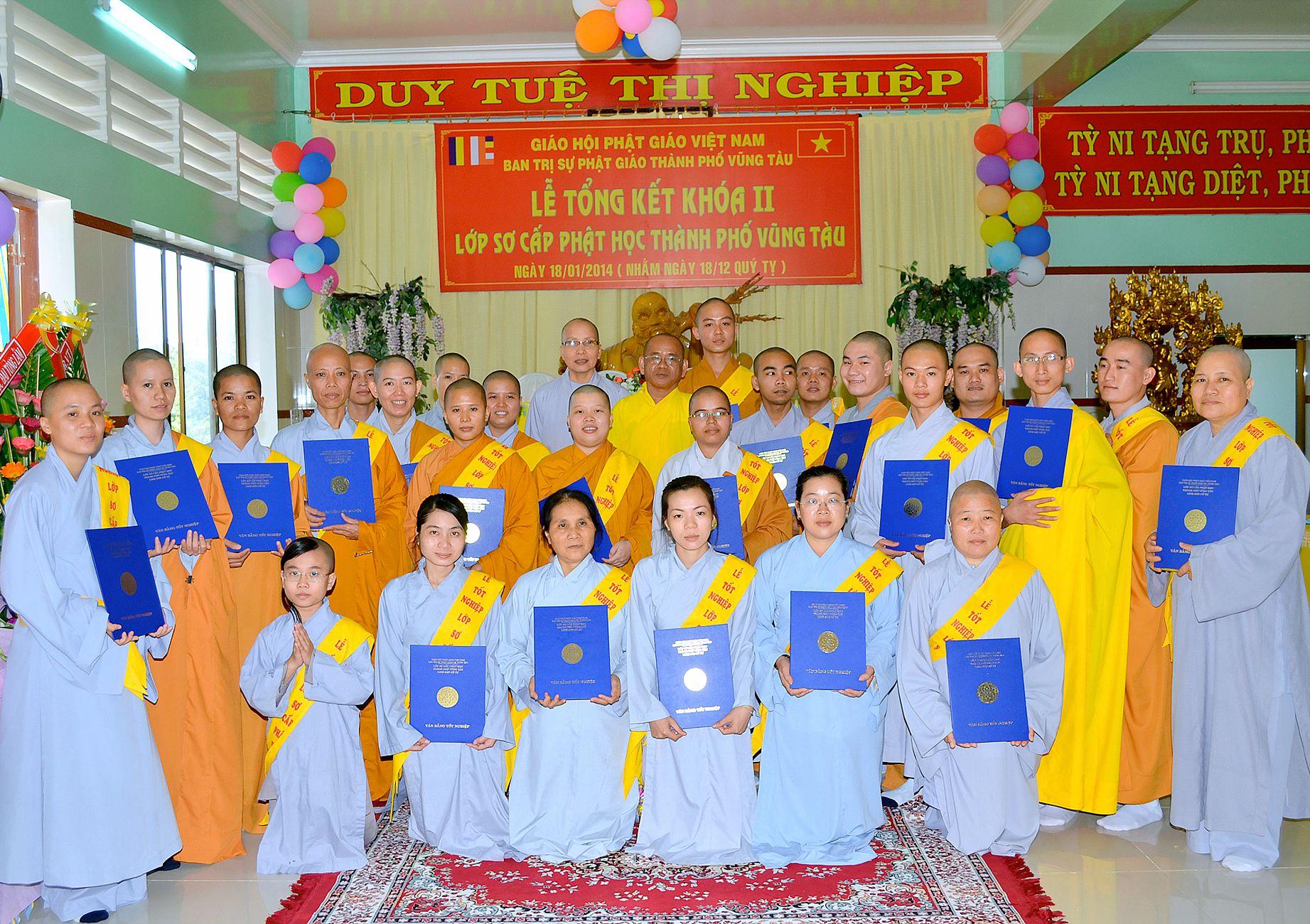 Tổng Kết Lớp Sơ Cấp Phật Học Khóa II